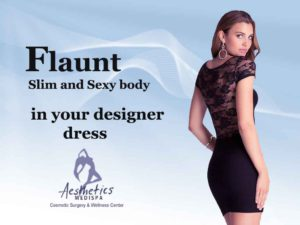 Flaunt your Slim and Sexy body in your designer dress