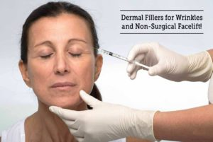 Dermal Fillers for Wrinkles and Non-Surgical Facelift !