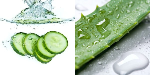Aloe Vera and Cucumber Wrap