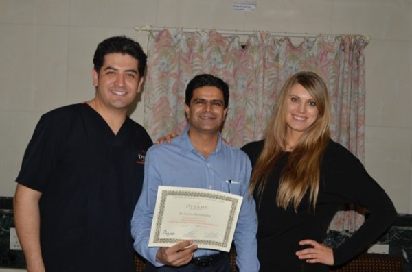 Dr. Alfredo Hoyo's Certification for High Definition VASER